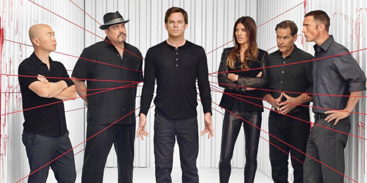 The cast of Dexter