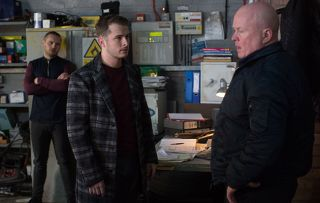 EastEnders Ben Mitchell and Phil Mitchell