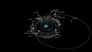 Newfound Dwarf Planet RR245