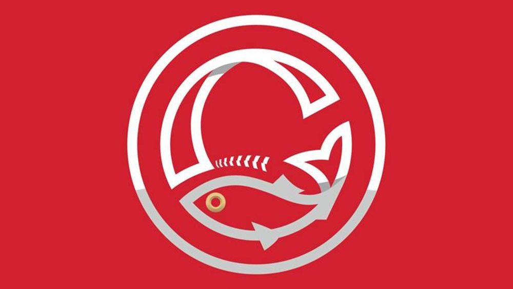 Baseball team rebrands to look like…a fish producer