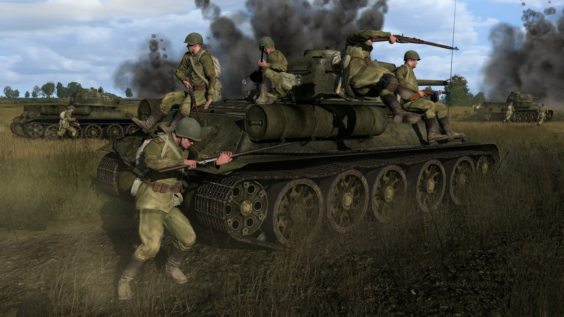 Iron Front Liberation 1944 Vehicles And Soldier Screenshots  #20061