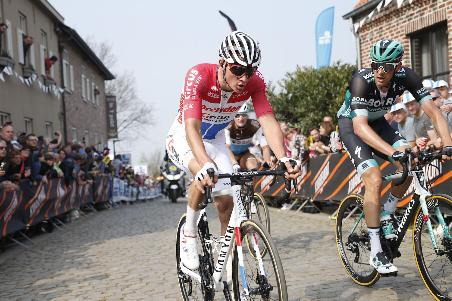 'I thought I'd already lost the race': Mathieu van der Poel impresses in Flanders after fighting back from crash
