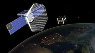 CleanSpace One Sweeps Up Cubesat