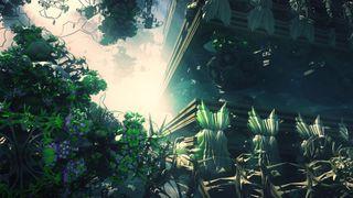 Foliage based fractal art