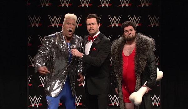 The Rock Dwayne Johnson SNL Saturday Night Live WWE