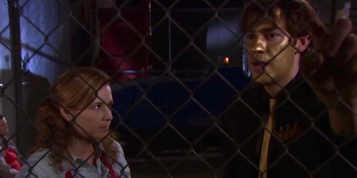 Jim Halpert as Goldenface in Threat Level Midnight