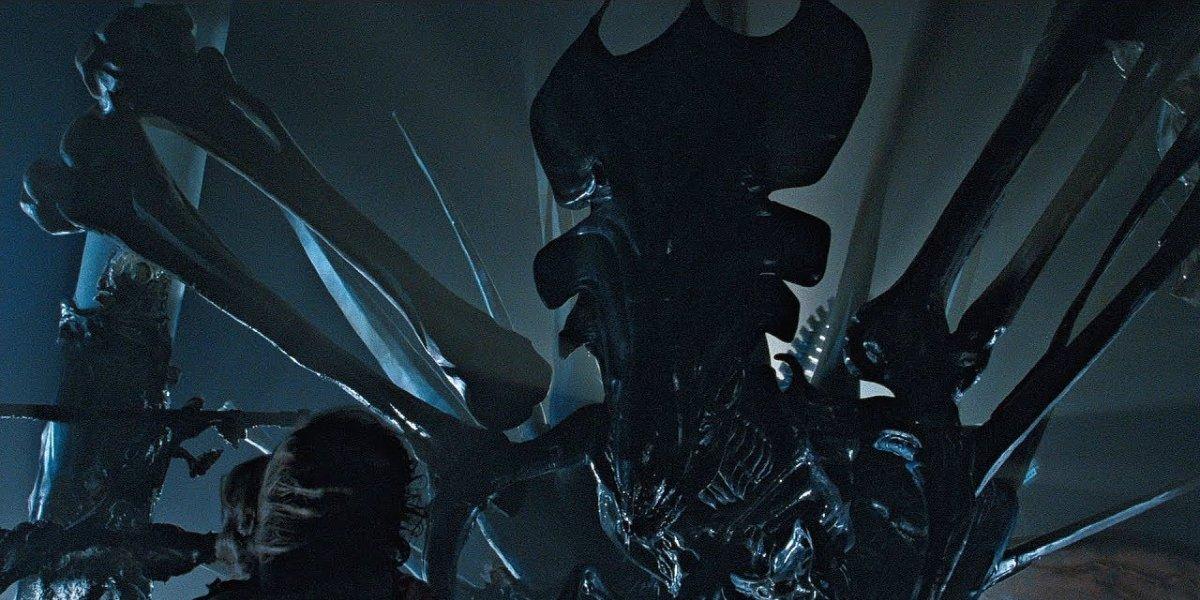 The Xenomorph queen in Aliens
