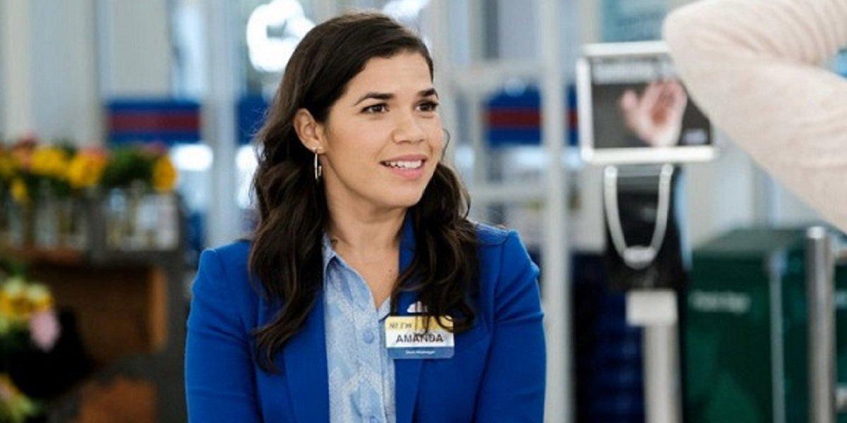 America Ferrera as Amy in Superstore.