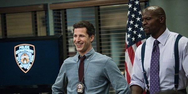 Jake Peralta Terry Jeffords Andy Samberg Terry Crews Brooklyn Nine-Nine