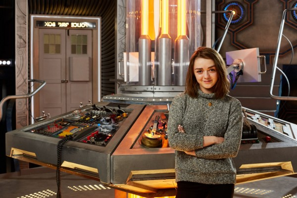 Maisie Williams guest stars in Doctor Who
