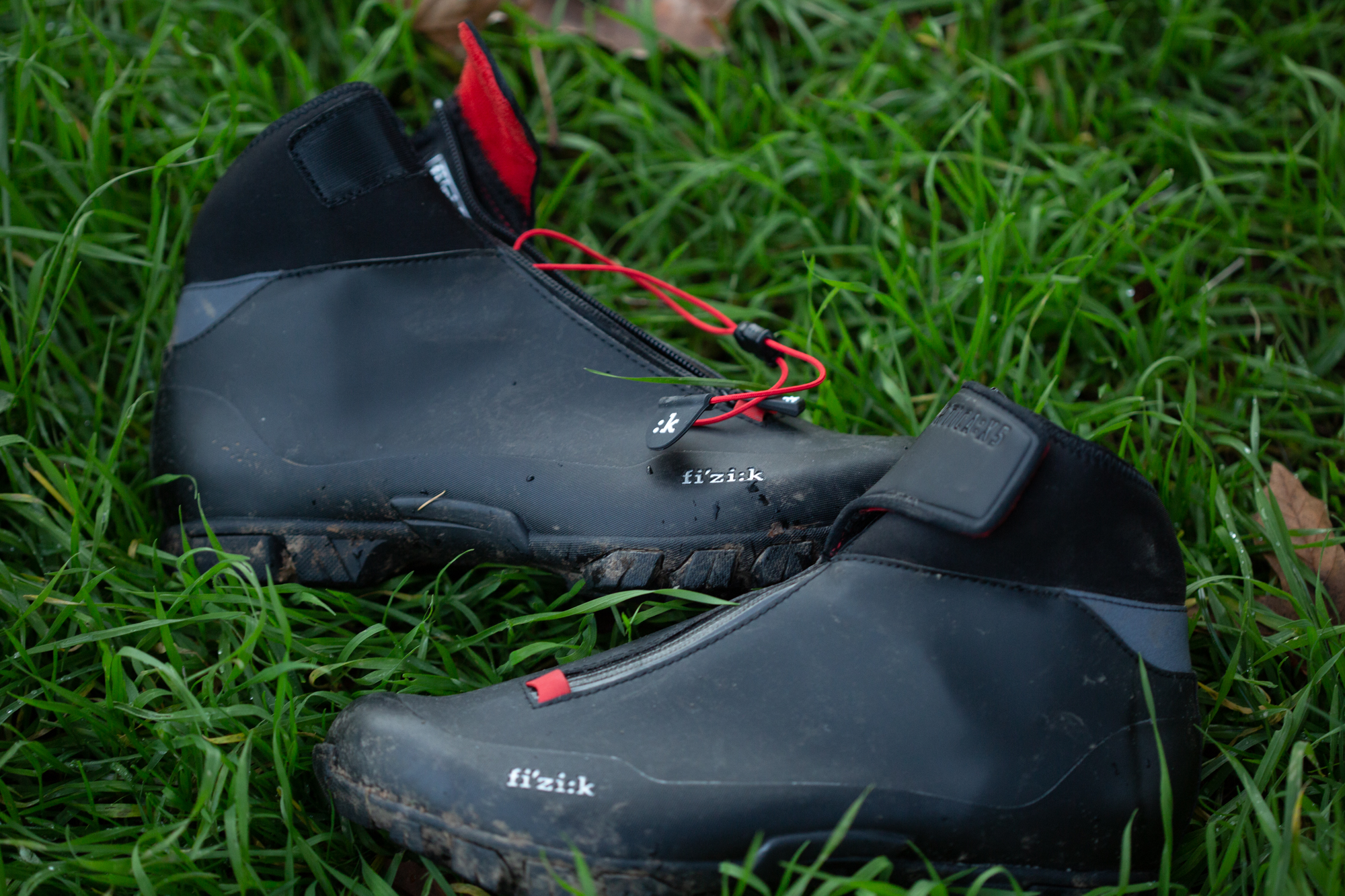 Fizik X5 Terra cold, wet cycling