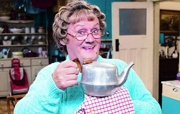 After a few hectic weeks that have seen Mrs Brown get the best out of guests including Ross Kemp and Holly Willoughby, it's our final visit to her home tonight.