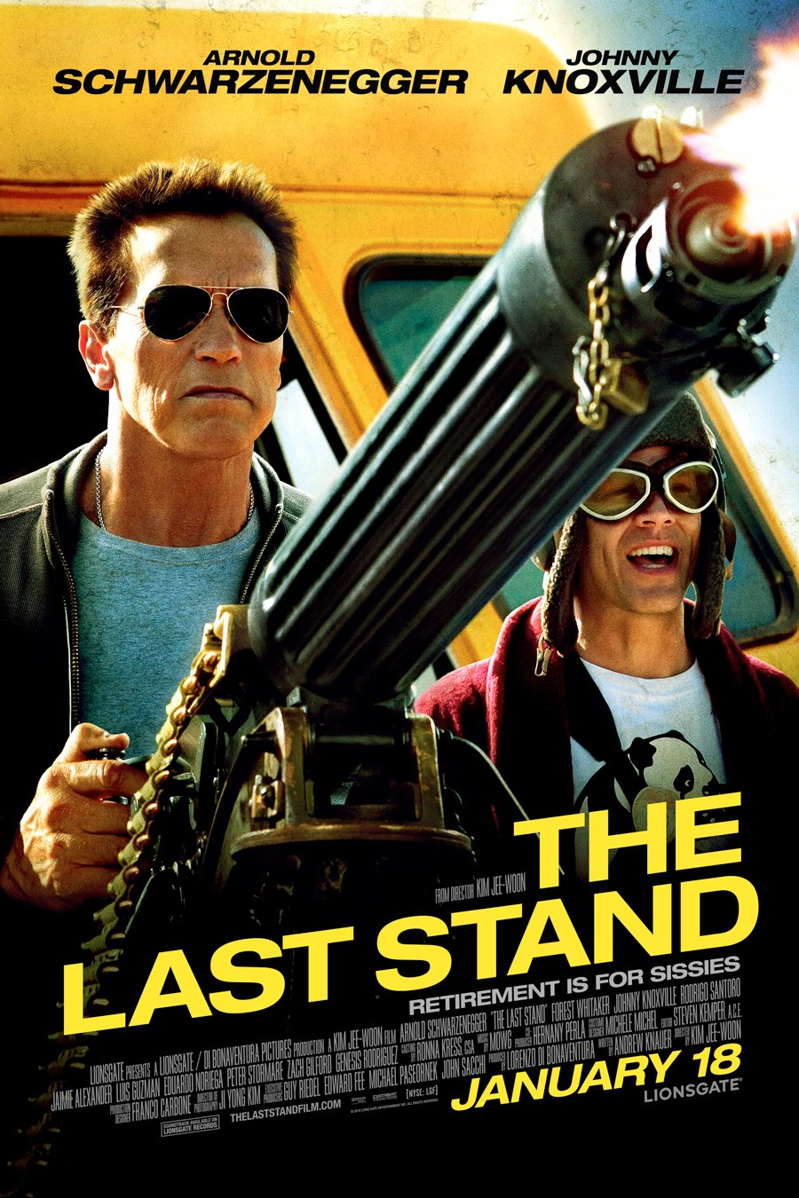 The Last Stand Giveaway: Win Posters, A T-Shirt, Arnold DVDs And More #6846