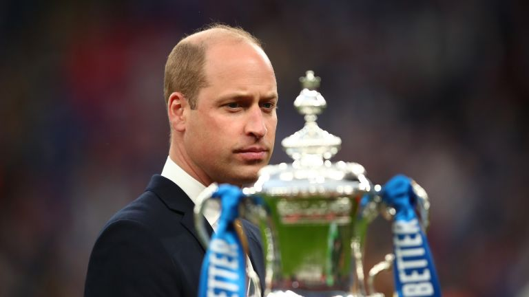 Prince William at the FA Cup Final