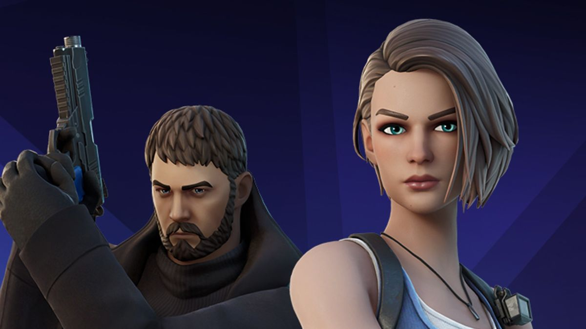 Resident Evil's Chris Redfield and Jill Valentine join Fortnite in latest crossover