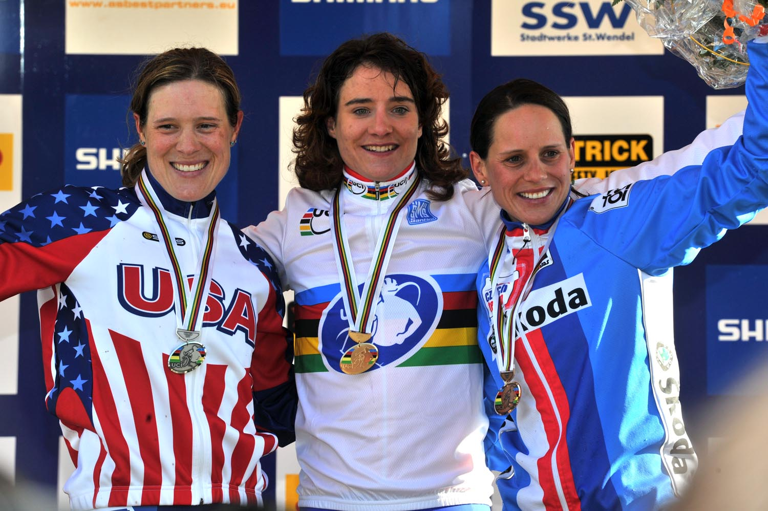 Marianne Vos tops women
