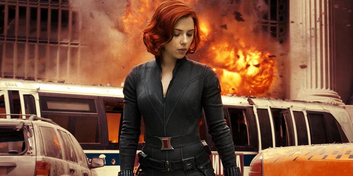 Black Widow in Avengers