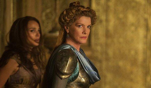 Thor: The Dark World Frigga trying to bring Jane to safety