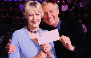 Who Wants to Be a Millionaire?'s first million-pound winner, in 2000 hosted by Chris Tarrantt
