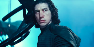 Adam Driver as Kylo Ren in Star Wars: A Rise of Skywalker