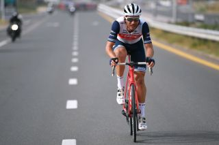 Will Clarke (Trek-Segafredo) in the UAE Tour stage 4