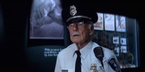 Stan Lee Cameo in The Winter Soldier