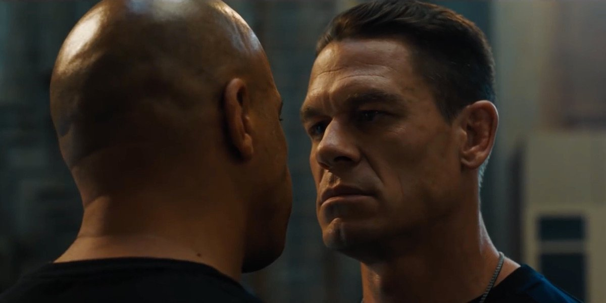 Vin Diesel and John Cena in Fast and Furious 9