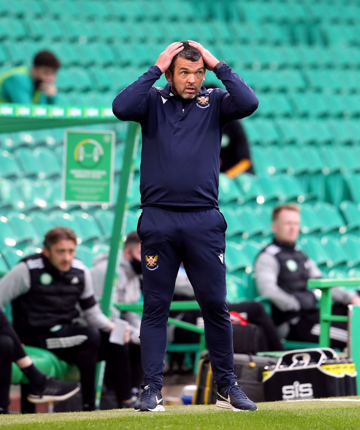 Callum Davidson says Covid-19 situation at St Johnstone is 'very concerning'