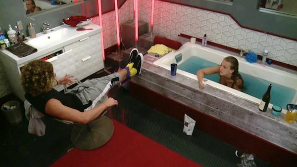 big brother haleigh bathtub
