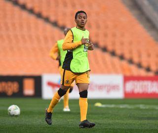 Nkosingiphile Ngcobo of Kaizer Chiefs