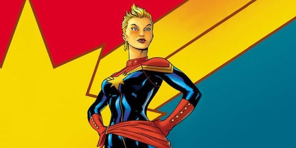 Carol Danvers as Captain Marvel comics