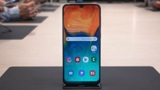 The newly-launched Samsung Galaxy A30. Image credit: TechRadar