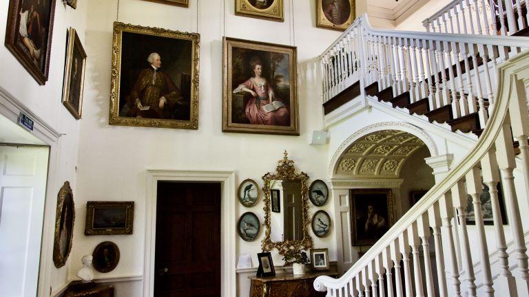 Mapperton Estate hallway