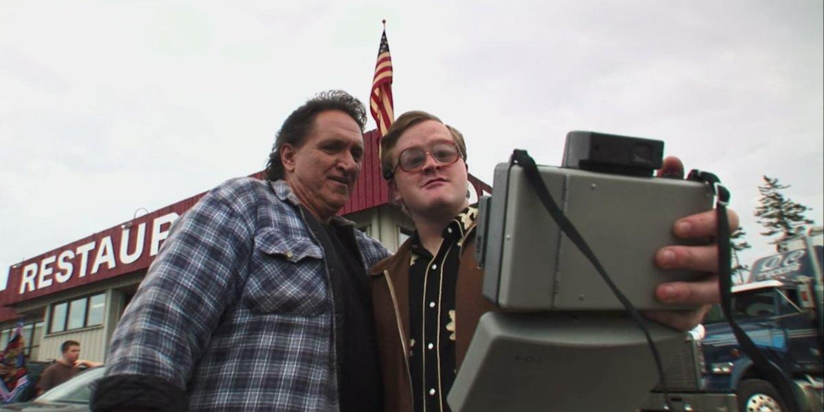 Barrie Dunn and Mike Smith on Trailer Park Boys