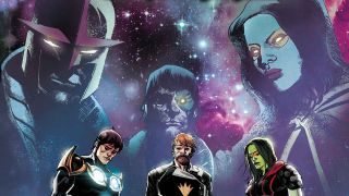 Guardians of the Galaxy #11 cover