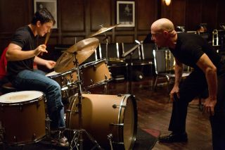 Miles Teller and J.K. Simmons star in Damien Chazelle's 'Whiplash,' about an ambitious young drummer and his hard-driving teacher.