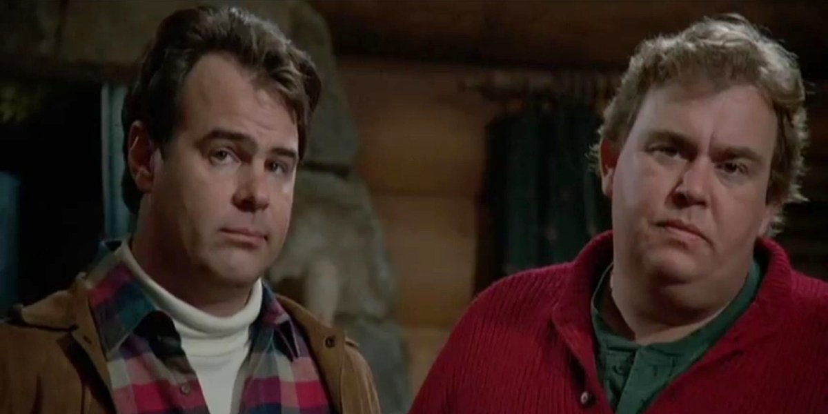 Dan Aykroyd and John Candy in The Great Outdoors