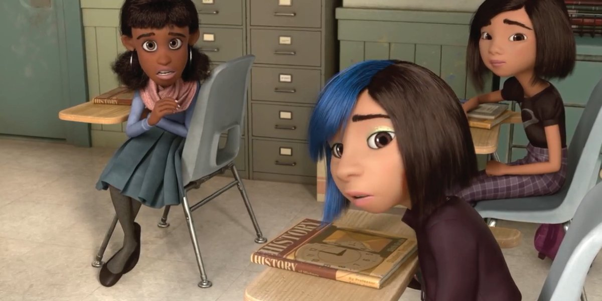 Cool Girl in Inside Out