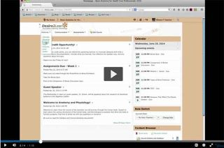 Video Tutorial: Desire2Learn (Brightspace) 10.3 - Instructor Training