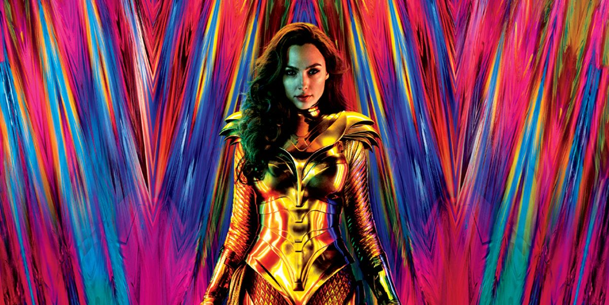 Wonder Woman 1984 poster with Gal Gadot