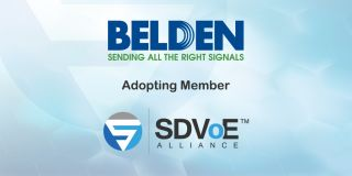 Belden Joins SDVoE Alliance to Promote AV over IP