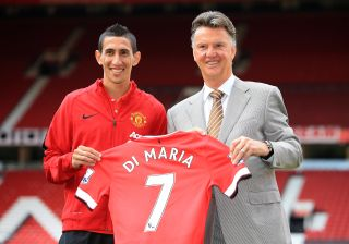 Soccer – Manchester United Photo Call – Angel Di Maria Unveiling – Old Trafford