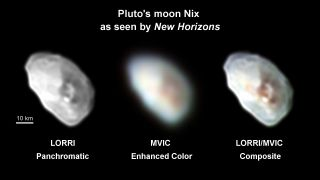 New Horizons Photos of Pluto Moon Nix