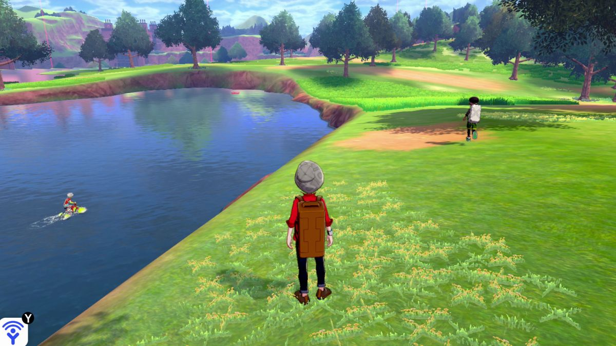 Pokemon Sword & Shield's open-world Wild Area is as big as two regions from Breath of the Wild