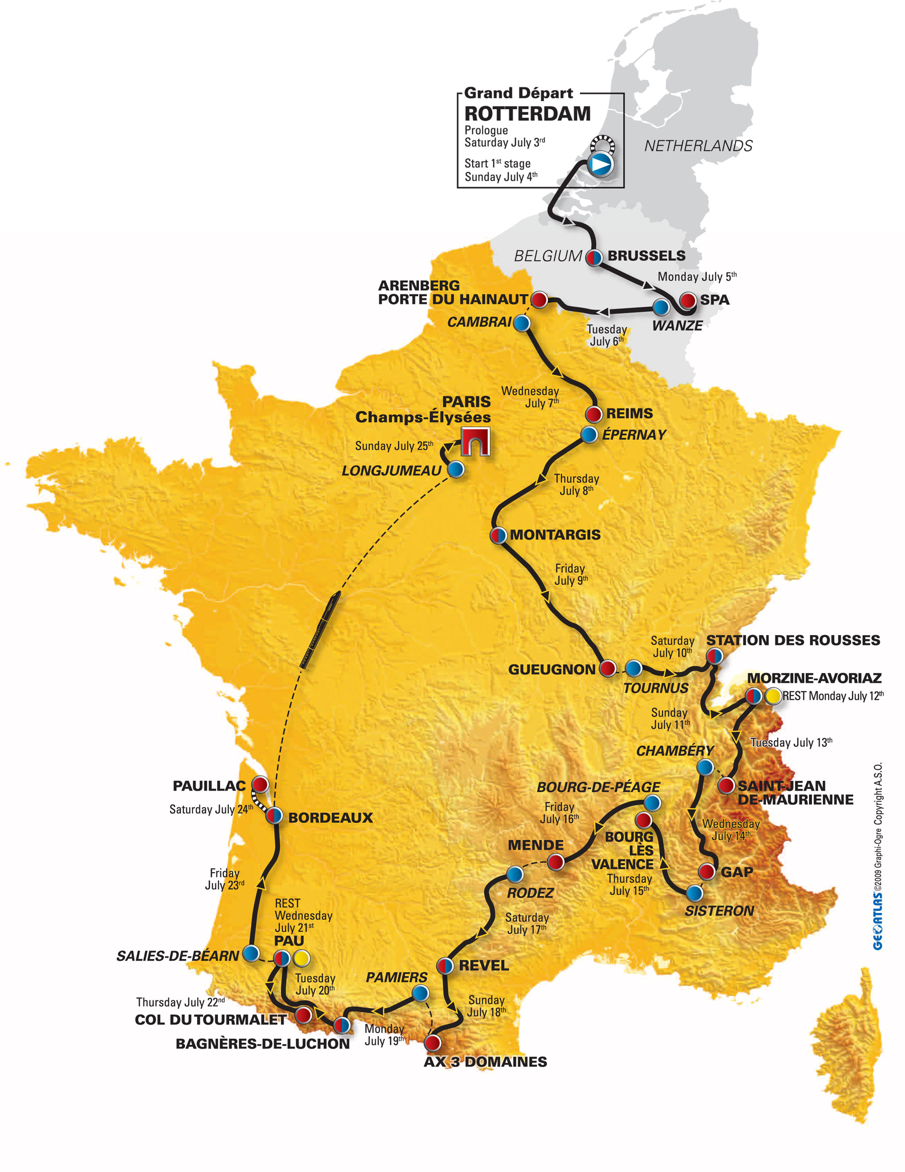 Tour de France 2010 Cycling Weeklys coverage index Cycling Weekly