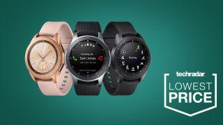 Samsung Galaxy Watch Drops To Record Low Prices In Black Friday Smartwatch Deals Techradar