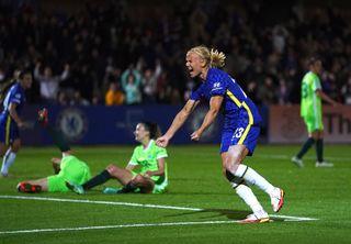 Chelsea v Wolfsburg – UEFA Women's Champions League – Group A – Kingsmeadow