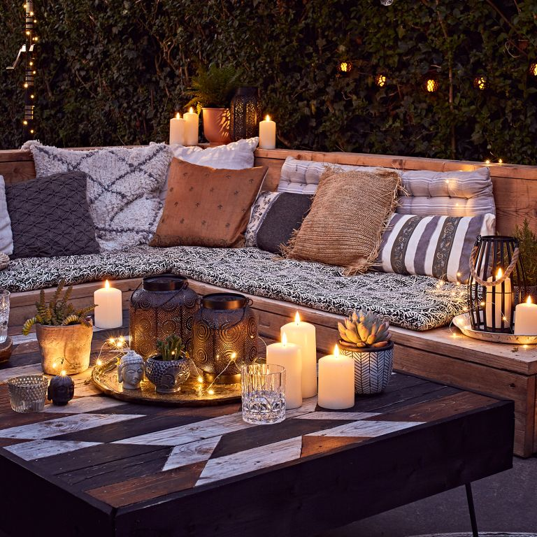 Rustic garden scheme by Lights4fun