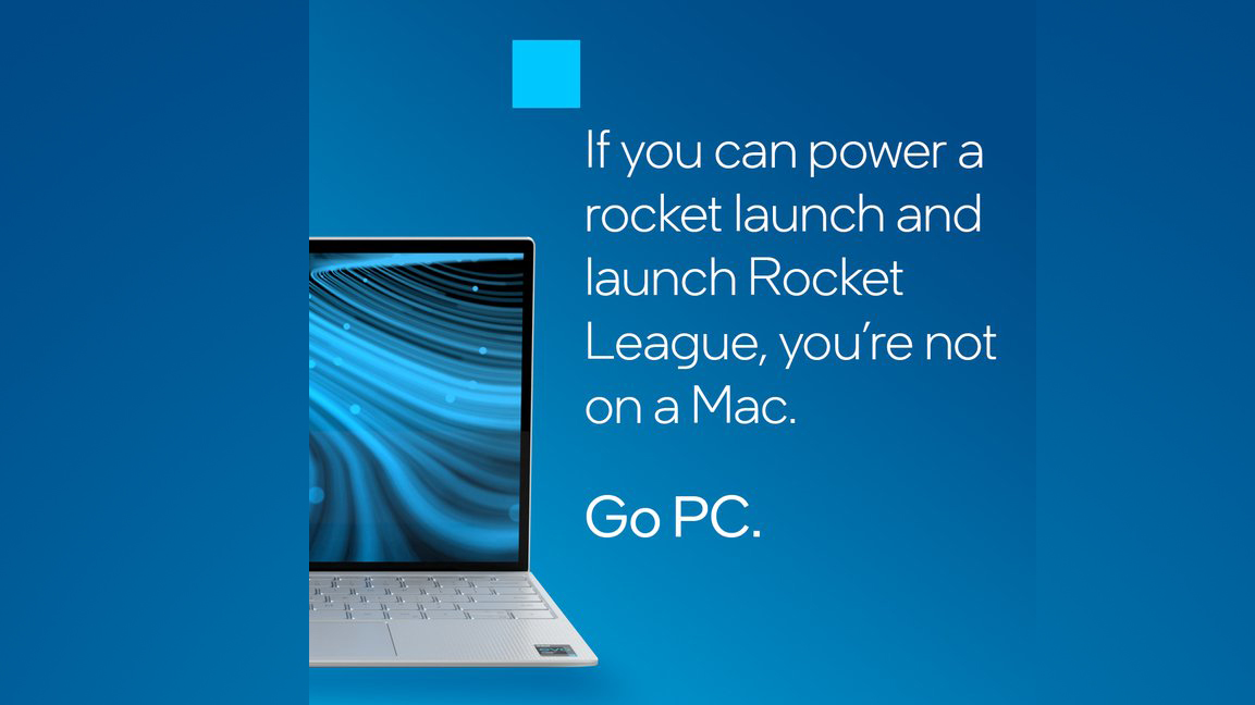 Intel is back to bashing Apple with aggressive anti-MacBook ads