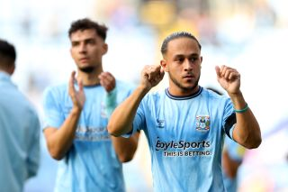 Coventry City v Nottingham Forest – Sky Bet Championship – Coventry Building Society Arena